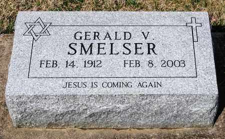 SMELSER, GERALD V - Wayne County, Ohio | GERALD V SMELSER - Ohio Gravestone Photos
