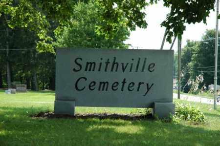 SMITHVILLE, CEMETERY - Wayne County, Ohio | CEMETERY SMITHVILLE - Ohio Gravestone Photos