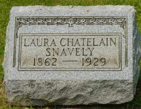 SNAVELY, LAURA - Wayne County, Ohio | LAURA SNAVELY - Ohio Gravestone Photos