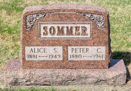 SOMMER, ALICE S - Wayne County, Ohio | ALICE S SOMMER - Ohio Gravestone Photos