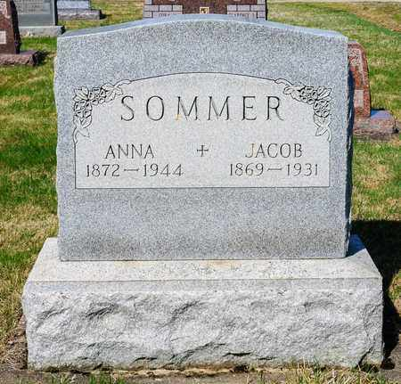 SOMMER, JACOB - Wayne County, Ohio | JACOB SOMMER - Ohio Gravestone Photos