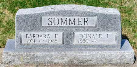 SOMMER, BARBARA E - Wayne County, Ohio | BARBARA E SOMMER - Ohio Gravestone Photos