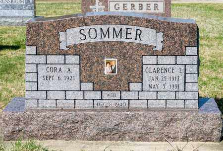 SOMMER, CLARENCE L - Wayne County, Ohio | CLARENCE L SOMMER - Ohio Gravestone Photos
