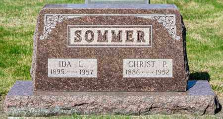SOMMER, CHRIST P - Wayne County, Ohio | CHRIST P SOMMER - Ohio Gravestone Photos
