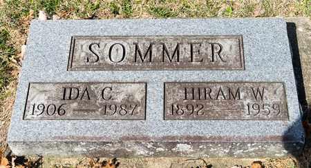SOMMER, IDA C - Wayne County, Ohio | IDA C SOMMER - Ohio Gravestone Photos
