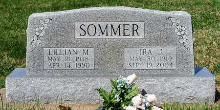 SOMMER, LILLIAN M - Wayne County, Ohio | LILLIAN M SOMMER - Ohio Gravestone Photos