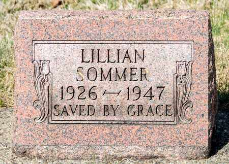 SOMMER, LILLIAN - Wayne County, Ohio | LILLIAN SOMMER - Ohio Gravestone Photos