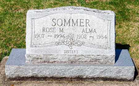 SOMMER, ROSE M - Wayne County, Ohio | ROSE M SOMMER - Ohio Gravestone Photos