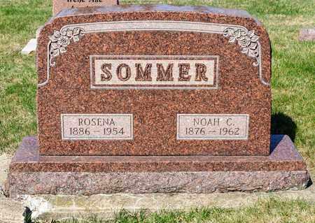 SOMMER, ROSENA - Wayne County, Ohio | ROSENA SOMMER - Ohio Gravestone Photos