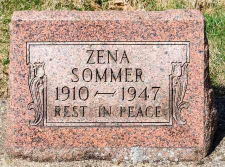 SOMMER, ZENA - Wayne County, Ohio | ZENA SOMMER - Ohio Gravestone Photos