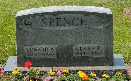 SPENCE, EDWARD W. - Wayne County, Ohio | EDWARD W. SPENCE - Ohio Gravestone Photos