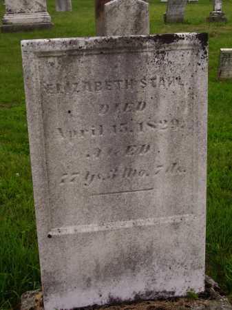 STAHL, ELIZABETH - Wayne County, Ohio | ELIZABETH STAHL - Ohio Gravestone Photos