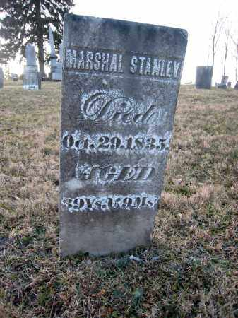 STANLEY, MARSHAL - Wayne County, Ohio | MARSHAL STANLEY - Ohio Gravestone Photos
