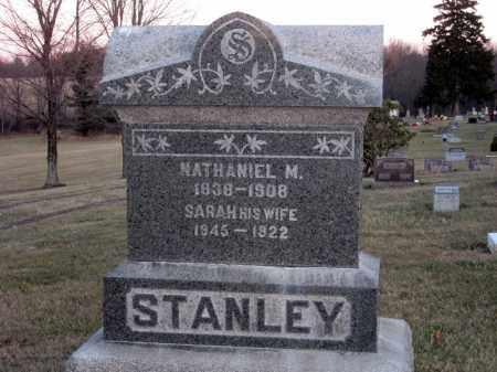 STANLEY, NATHANIEL M. - Wayne County, Ohio | NATHANIEL M. STANLEY - Ohio Gravestone Photos