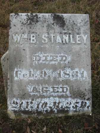 STANLEY, WM B - Wayne County, Ohio | WM B STANLEY - Ohio Gravestone Photos