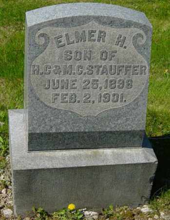 STAUFFER, ELMER H. - Wayne County, Ohio | ELMER H. STAUFFER - Ohio Gravestone Photos