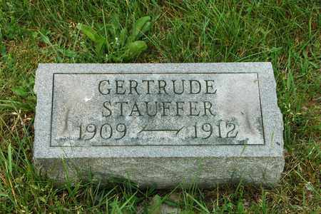 STAUFFER, GERTRUDE - Wayne County, Ohio | GERTRUDE STAUFFER - Ohio Gravestone Photos