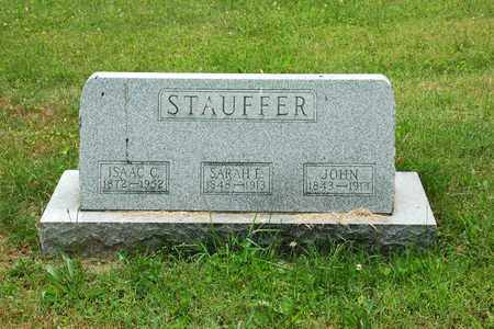 STAUFFER, SARAH E. - Wayne County, Ohio | SARAH E. STAUFFER - Ohio Gravestone Photos