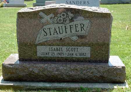 SCOTT STAUFFER, ISABEL - Wayne County, Ohio | ISABEL SCOTT STAUFFER - Ohio Gravestone Photos