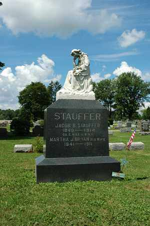 BRYAN STAUFFER, MARTHA J. - Wayne County, Ohio | MARTHA J. BRYAN STAUFFER - Ohio Gravestone Photos