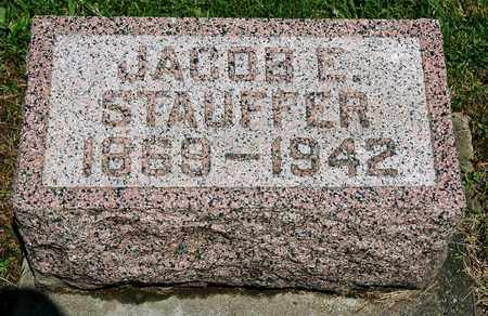 STAUFFER, JACOB E. - Wayne County, Ohio | JACOB E. STAUFFER - Ohio Gravestone Photos