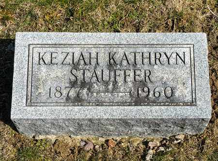 KATHRYN STAUFFER, KEZIAH - Wayne County, Ohio | KEZIAH KATHRYN STAUFFER - Ohio Gravestone Photos