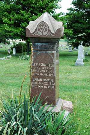 STAUFFER, LEWIS - Wayne County, Ohio | LEWIS STAUFFER - Ohio Gravestone Photos