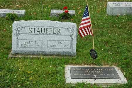 STAUFFER, ELTON LEWIS - Wayne County, Ohio | ELTON LEWIS STAUFFER - Ohio Gravestone Photos