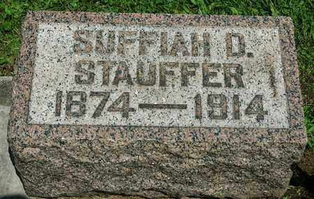FISHBURN STAUFFER, SUFFIAH D. - Wayne County, Ohio | SUFFIAH D. FISHBURN STAUFFER - Ohio Gravestone Photos
