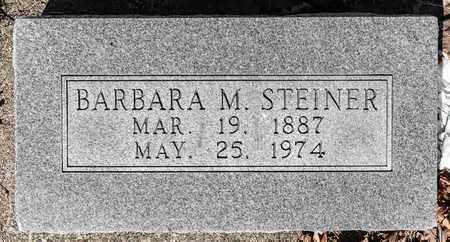 STEINER, BARBARA M - Wayne County, Ohio | BARBARA M STEINER - Ohio Gravestone Photos