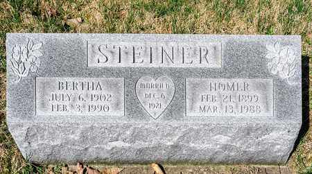 STEINER, BERTHA - Wayne County, Ohio | BERTHA STEINER - Ohio Gravestone Photos