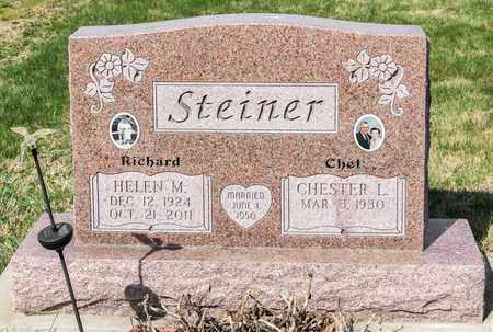 STEINER, HELEN M - Wayne County, Ohio | HELEN M STEINER - Ohio Gravestone Photos