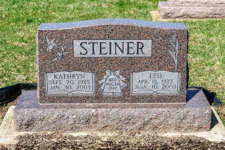 STEINER, KATHRYN - Wayne County, Ohio | KATHRYN STEINER - Ohio Gravestone Photos