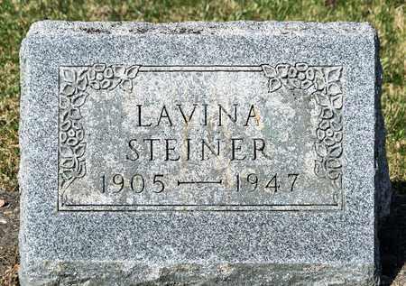 STEINER, LAVINA - Wayne County, Ohio | LAVINA STEINER - Ohio Gravestone Photos
