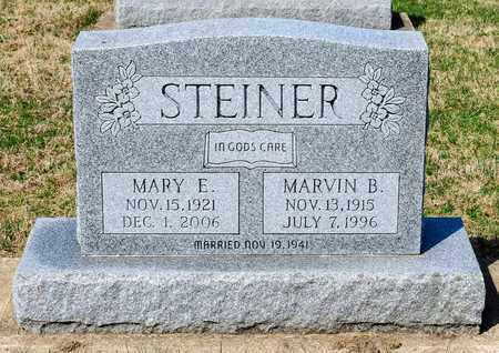 STEINER, MARVIN B - Wayne County, Ohio | MARVIN B STEINER - Ohio Gravestone Photos