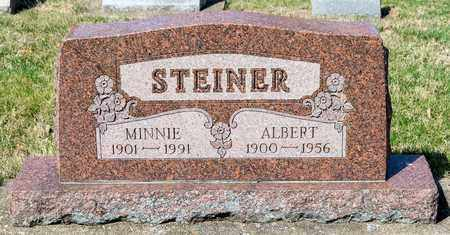 STEINER, MINNIE - Wayne County, Ohio | MINNIE STEINER - Ohio Gravestone Photos