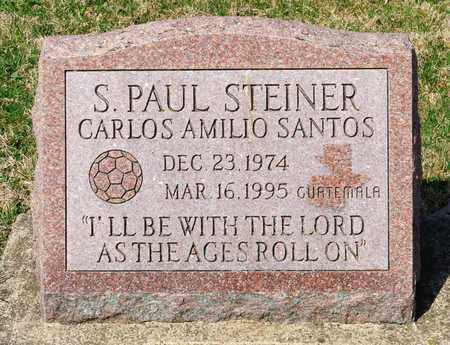 STEINER, S PAUL - Wayne County, Ohio | S PAUL STEINER - Ohio Gravestone Photos