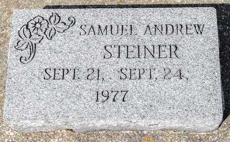 STEINER, SAMUEL ANDREW - Wayne County, Ohio | SAMUEL ANDREW STEINER - Ohio Gravestone Photos