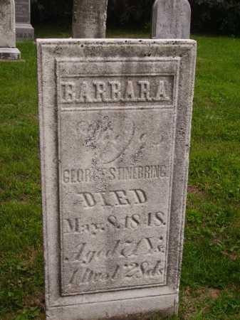 STINEBRING, BARBARA - Wayne County, Ohio | BARBARA STINEBRING - Ohio Gravestone Photos