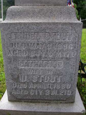 STOUT, DANIEL - Wayne County, Ohio | DANIEL STOUT - Ohio Gravestone Photos