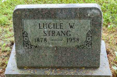 STRANG, LUCILE W. - Wayne County, Ohio | LUCILE W. STRANG - Ohio Gravestone Photos