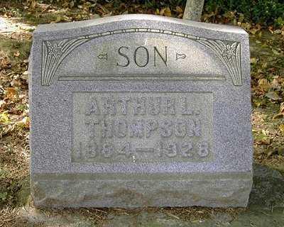 THOMPSON, ARTHUR L. - Wayne County, Ohio | ARTHUR L. THOMPSON - Ohio Gravestone Photos