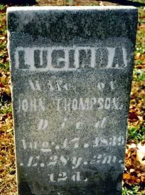 SHEPLER THOMPSON, LUCINDA - Wayne County, Ohio | LUCINDA SHEPLER THOMPSON - Ohio Gravestone Photos