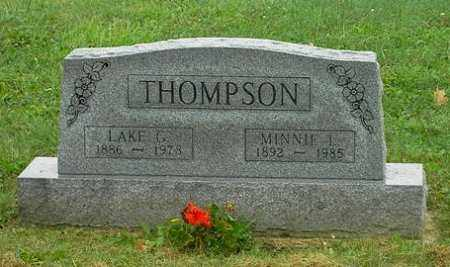 THOMPSON, MINNE L. - Wayne County, Ohio | MINNE L. THOMPSON - Ohio Gravestone Photos
