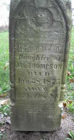 THOMPSON, MARGARET - Wayne County, Ohio | MARGARET THOMPSON - Ohio Gravestone Photos