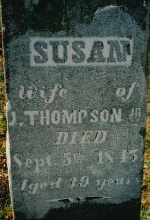 THOMPSON, SUSAN - Wayne County, Ohio | SUSAN THOMPSON - Ohio Gravestone Photos