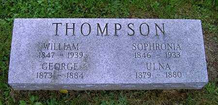 THOMPSON, ULNA - Wayne County, Ohio | ULNA THOMPSON - Ohio Gravestone Photos