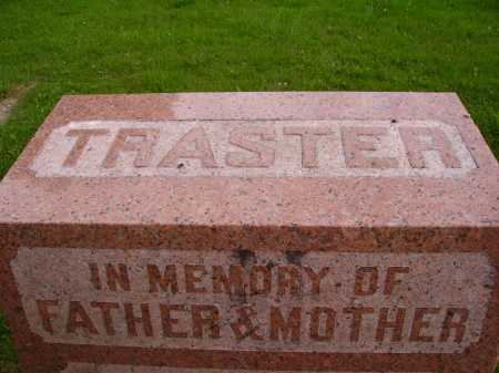 TRASTER FAMILY MONUMENT, TOP - Wayne County, Ohio | TOP TRASTER FAMILY MONUMENT - Ohio Gravestone Photos