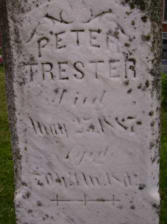 TRESTER, PETER - CLOSE VIEW - Wayne County, Ohio | PETER - CLOSE VIEW TRESTER - Ohio Gravestone Photos