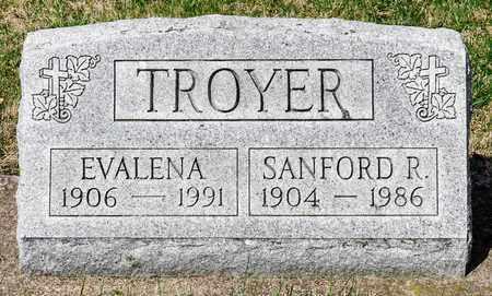 TROYER, EVALENA - Wayne County, Ohio | EVALENA TROYER - Ohio Gravestone Photos